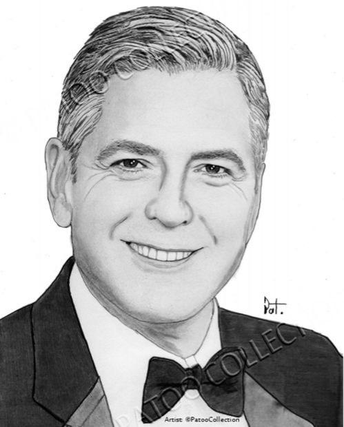George Clooney par dedrika